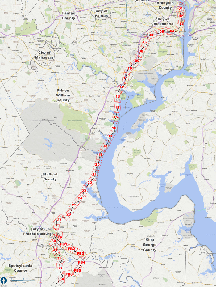 D C To Richmond Southeast High Speed Rail Northern Virginia Section